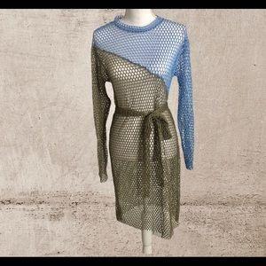 Zara Colección embroidered tunic